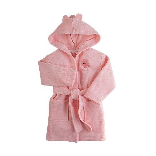Купить Халат Наша мама размер 80-86, розовый, Домашняя одежда