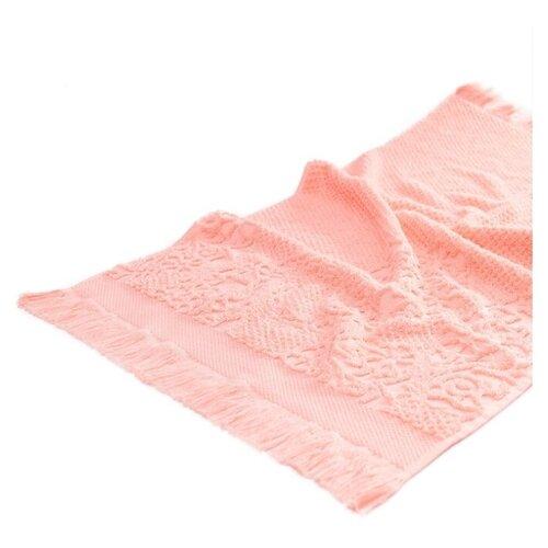 Arya Полотенце Жаккард Faralya для лица 50х90 см розовый цена 2017