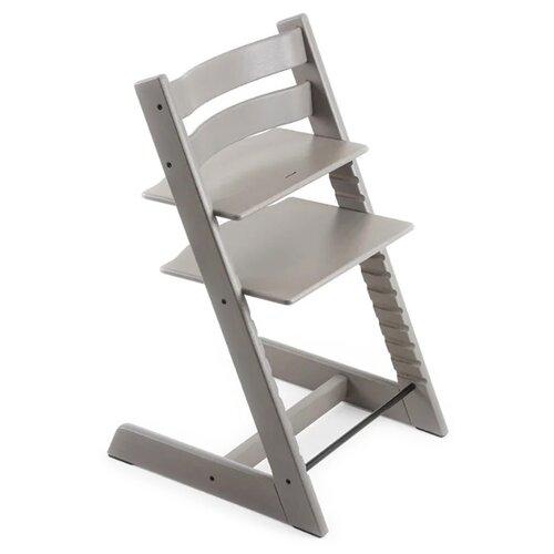 Купить Растущий стульчик Stokke Tripp Trapp из дуба, oak greywash, Стульчики для кормления