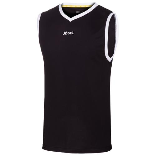 Купить Майка Jögel JBT-1020 размер XS, черный/белый, Футболки и топы