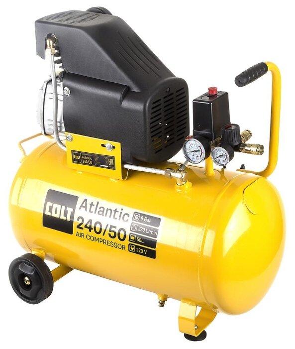 Компрессор масляный COLT Atlantic 240/50, 50 л, 1.5 кВт