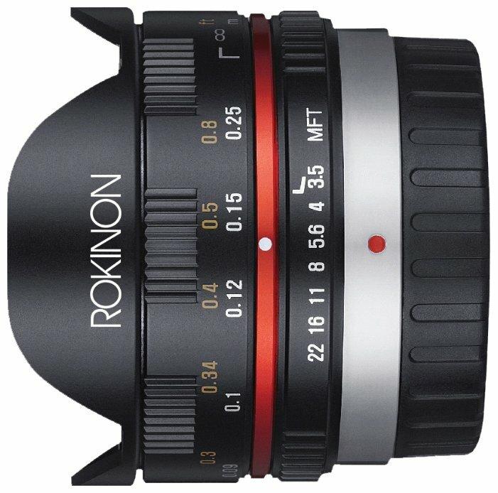 Объектив Rokinon 7.5mm f/3.5 IF ED UMC Aspherical Micro 4/3 (FE75MFT)