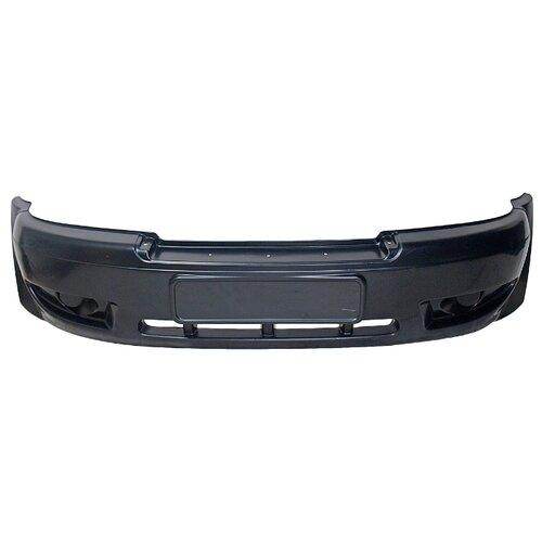 Накладка на бампер для УАЗ Пром-Деталь 3163-2803018 черный глянцевая