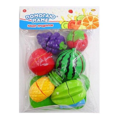 Фото - Набор продуктов ABtoys Помогаю маме PT-01274 разноцветный набор продуктов с посудой abtoys помогаю маме pt 00395 разноцветный