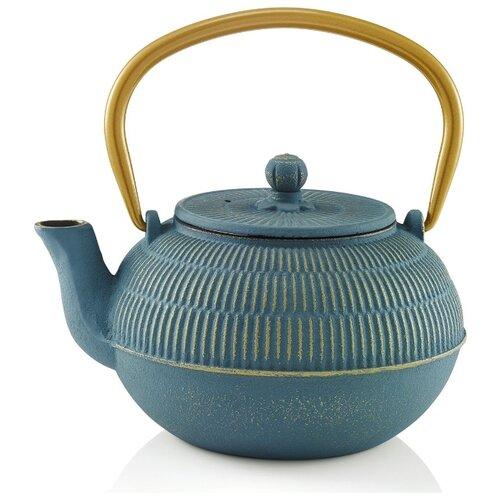 Beka Заварочный чайник Yuan 16409354 0.9 л, синий чайник заварочный 1 7 л la rose des sables синий лук 552917 1313