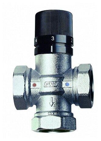 Трехходовой смесительный клапан термостатический FAR TermoFAR 3950 12 муфтовый (ВР), Ду 15 (1/2