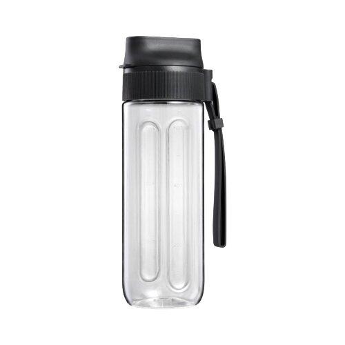 Бутылка для безалкогольных напитков Tescoma President 0.6 пластик антрацит