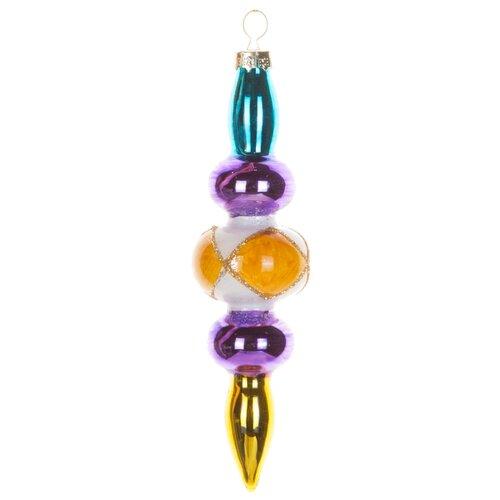 Набор елочных игрушек KARLSBACH 06894, разноцветный