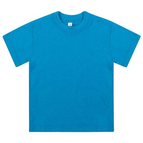 Купить Футболка Утенок, размер 86, бирюза, Футболки и рубашки