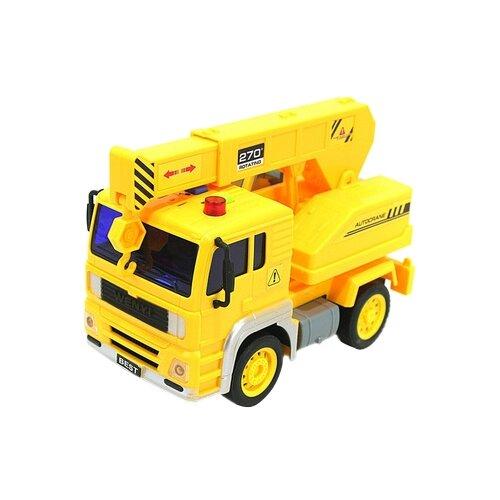 Купить Автокран DRIFT 47993 1:20 желтый, Машинки и техника