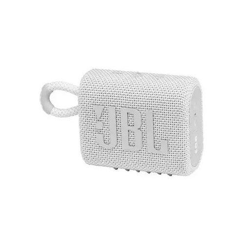 Портативная акустика JBL GO 3, white портативная акустика jbl go 3 white