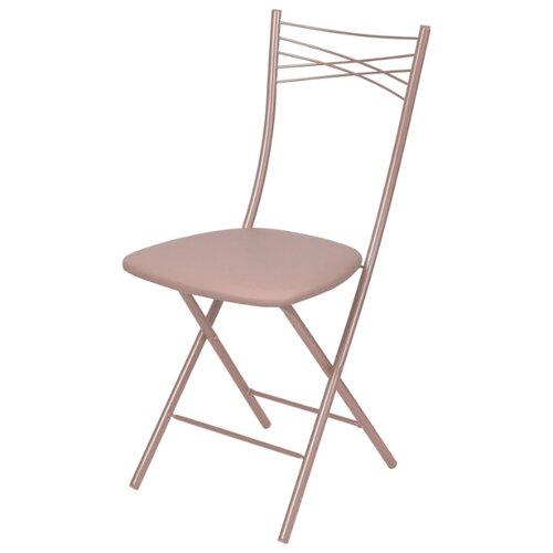 Стул складной Nika Ника 1 (ССН1) металл/искусственная кожа серый стул nika sport кс1 black