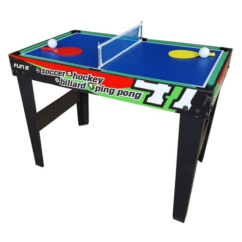 Фото - Многофункциональный игровой стол DFC Fun 2 SB-GT-10 черный многофункциональный игровой