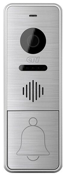 Вызывная (звонковая) панель на дверь CTV D4000AHD серебро