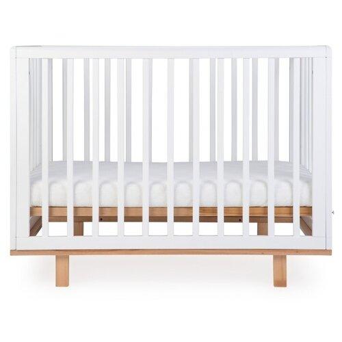 Кроватка Happy Baby Mirra (классическая) белый цена 2017