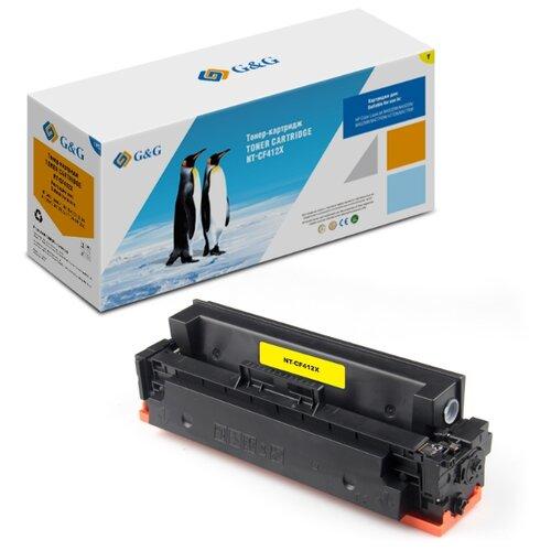 Фото - Картридж лазерный G&G NT-CF412X желтый (5000стр.) для HP CLJ M452DW/M452DN/M452NW/M477FDW/477DN/M477 картридж cactus cs cf412x для hp clj pro m452dn m452dw m477fdn m477fdw желтый 5000стр