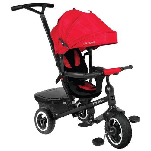 Купить Трехколесный велосипед Moby Kids Rider 360° 10x8 AIR красный, Трехколесные велосипеды