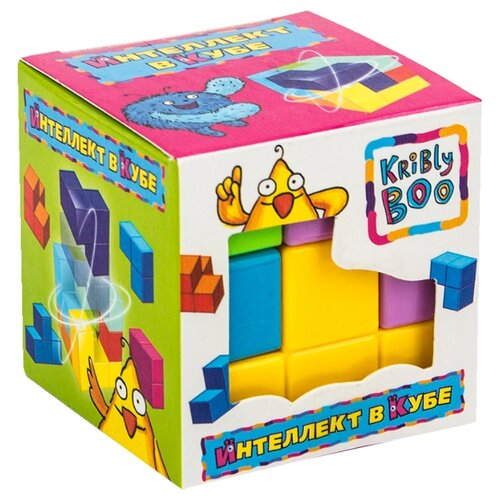 Купить Головоломка Kribly Boo Интеллект в кубе (58289) разноцветный, Головоломки