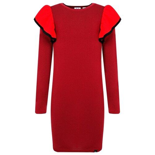 Купить Платье NIK&NIK размер 140, бордовый, Платья и сарафаны
