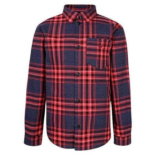 Рубашка EMPORIO ARMANI размер 128, красный рубашка emporio armani размер 128 синий