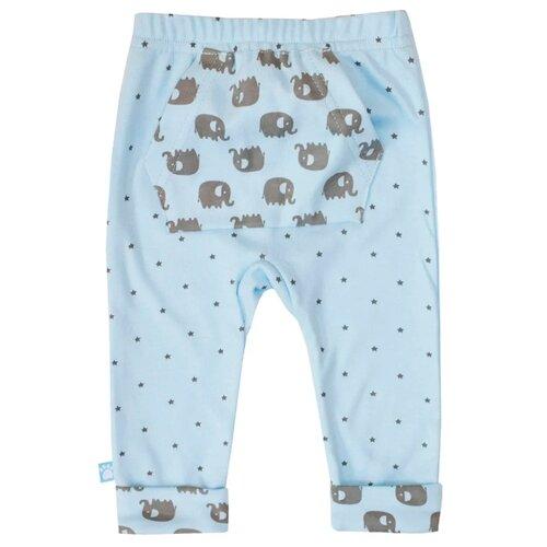 Купить Брюки KotMarKot Слоненок Тим 5310573 размер 62, синий, Брюки и шорты