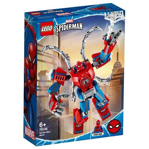Конструктор LEGO Marvel Super Heroes 76146 Человек-Паук: трансформер