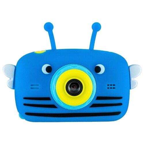 Фотоаппарат GSMIN Fun Camera View с играми синий