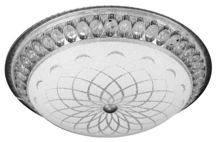 Купить Потолочная светодиодная люстра - светильник MAROCCO CHROME 72W IP20 стекло, метал, до 20 кв.м. по низкой цене с доставкой из Яндекс.Маркета (бывший Беру)