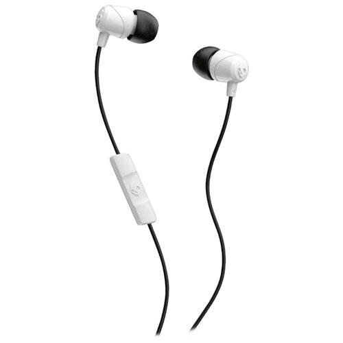 Наушники Skullcandy JIB w/Mic white/black наушники smokin bud 2 in ear w mic spaced out clear black