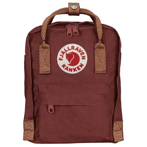 Рюкзак Fjallraven Kånken Mini 7 red (ox red-goose eye) рюкзак fjallraven kånken mini 7 red deep red random blocked