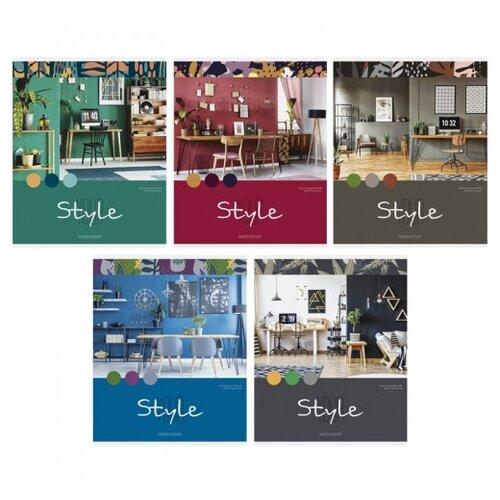 Купить ArtSpace Упаковка тетрадей Офис. Your style, Т48к_24334, 10 шт./5 дизайнов, клетка, 48 л., Тетради