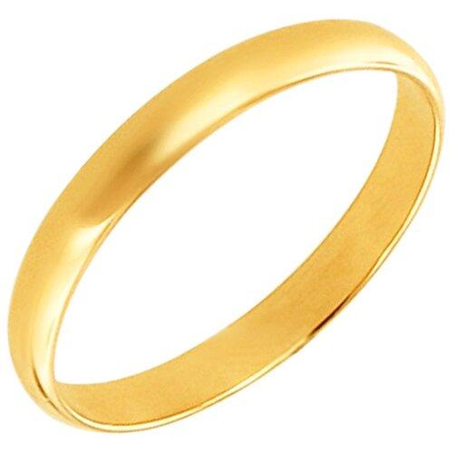 Эстет Кольцо из желтого золота 01О030343, размер 17 ЭСТЕТ
