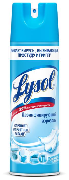 Lysol Средство дезинфицирующее для поверхностей Свежесть хлопка