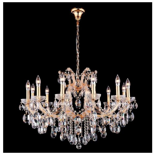 Люстра Crystal Lux Hollywood SP12 Gold, E14, 480 Вт люстра crystal lux adagio pl8 e14 480 вт
