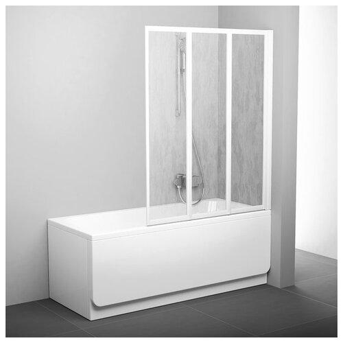 Душевая шторка RAVAK VS3-115 Rain белый