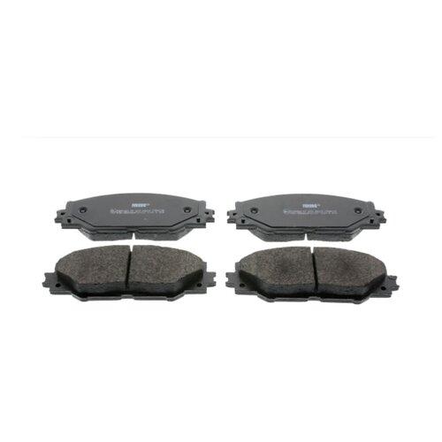 Фото - Дисковые тормозные колодки передние Ferodo FDB4136 для Toyota Auris, Toyota RAV4, Toyota Mirai, Toyota Prius (4 шт.) дисковые тормозные колодки передние ferodo fdb1639 для toyota subaru 4 шт