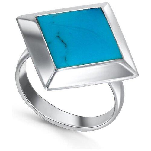 Silver WINGS Кольцо с бирюзой из серебра 21jr30180-28, размер 17 silver wings кольцо с бирюзой из серебра 21set10724 113 размер 17