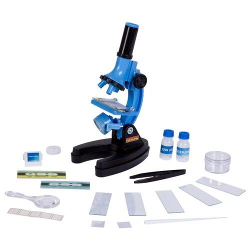 Микроскоп BONDIBON Французские опыты Науки с Буки Микромир (ВВ2713) синий/черный французские опыты науки с буки bondibon микроскоп