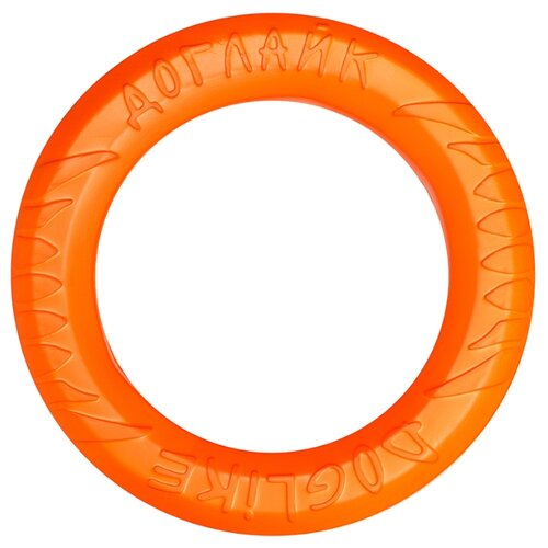 Фото - Кольцо для собак Doglike Кольцо 8-ми гранное среднее (D-2612) оранжевый игрушка для собак doglike шинка гига оранжевый