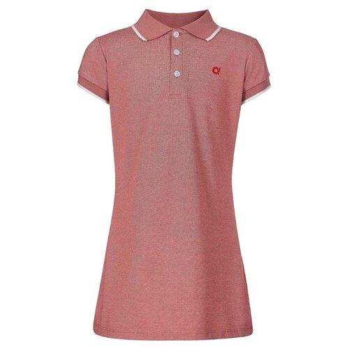 Платье Oldos размер 134, розовый меланж