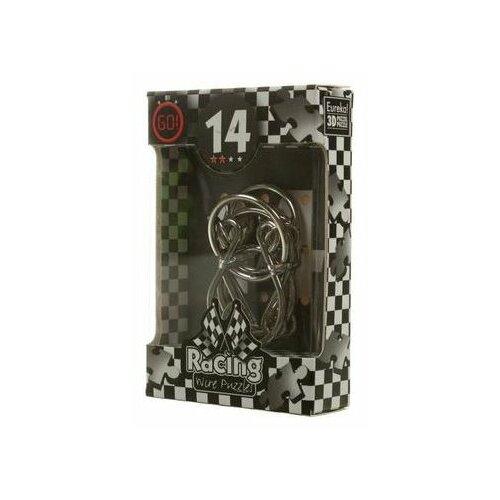 Купить Головоломка Eureka 3D Puzzle Racing Wire Puzzles 14 сложность 2 (473284) серый, Головоломки
