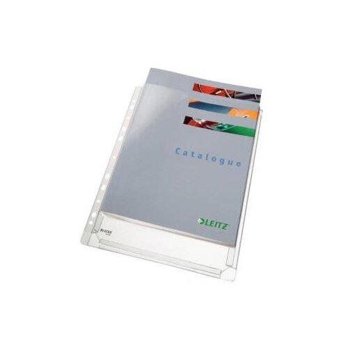 Leitz Папка-карман перфорированная с расширением А4 170 мкм 10 штук бесцветный папка уголок leitz с расширением на 20см 200 мк прозрачная цена за штуку 40563003