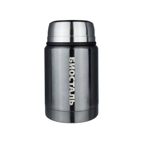 Фото - Термос для еды Biostal NTS-500, 0.5 л серый термосы biostal для еды с ложкой 0 5 л nts 500