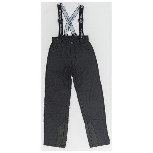 Купить Брюки Button Blue 220BBBA6401 размер 122, черный, Полукомбинезоны и брюки