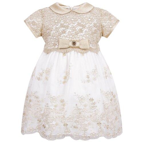 Платье Lesy размер 98, золотой