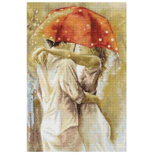 Фото - Luca-S Набор для вышивания Под зонтом, 18 х 27 см, G552 набор для вышивания luca s b548 клёвое место