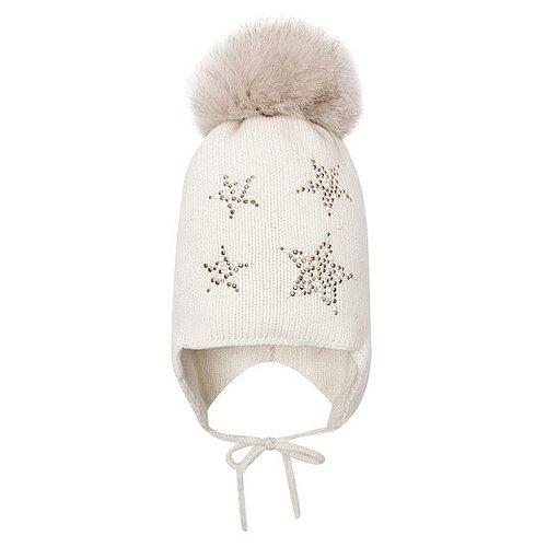 Шапка Regina размер 46-50, белый шапка ultis размер 44 46 белый с красными цветами