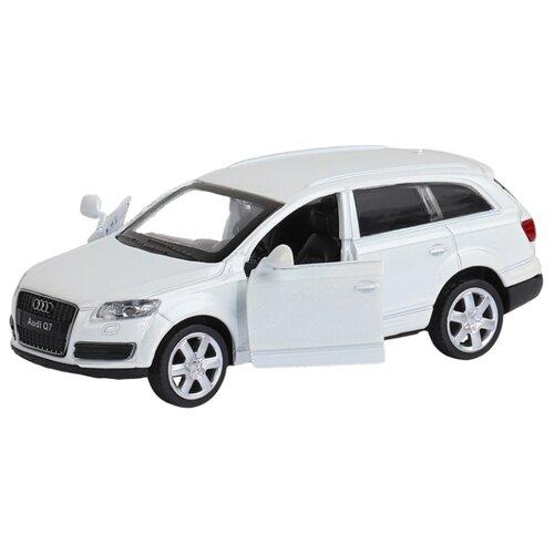 Купить Легковой автомобиль Автопанорама Audi Q7 (J12275/JB1200128) 1:43 11 см белый, Машинки и техника