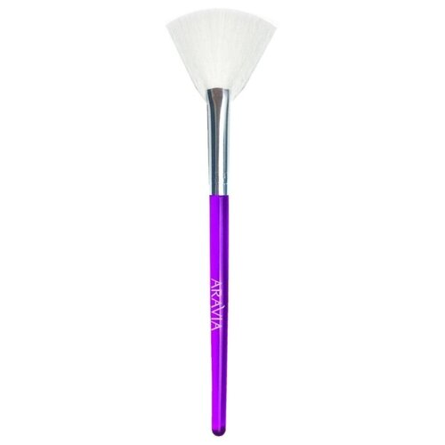 Косметическая кисть ARAVIA Professional для нанесения пилингов фиолетовый
