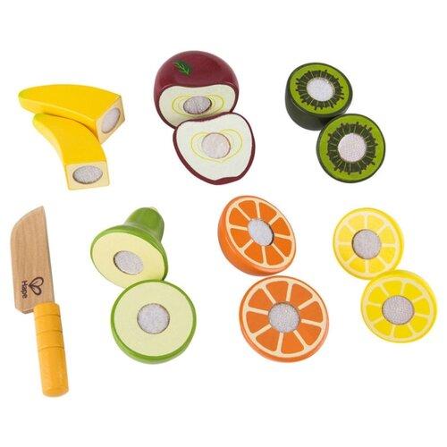 Купить Набор продуктов Hape Fresh Fruit E3117 разноцветный, Игрушечная еда и посуда
